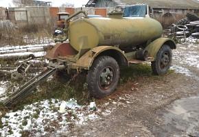 Бочка для воды на колёсах 2,5 м.куб.