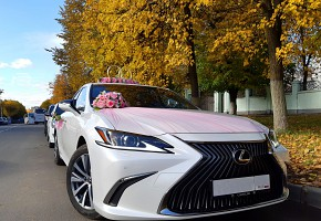 Свадебный кортеж Lexus ES VII