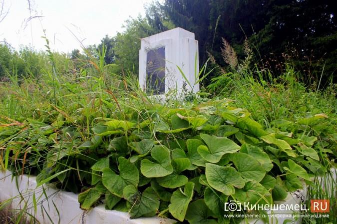 В Кинешме зарастает травой обелиск павшим на войне солдатам фото 4
