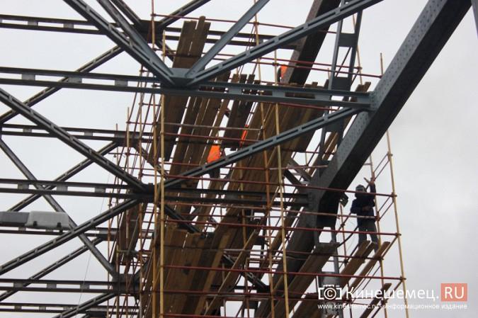 Подрядчик ремонта Никольского моста в Кинешме отстает от графика фото 9