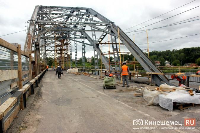 Подрядчик ремонта Никольского моста в Кинешме отстает от графика фото 3