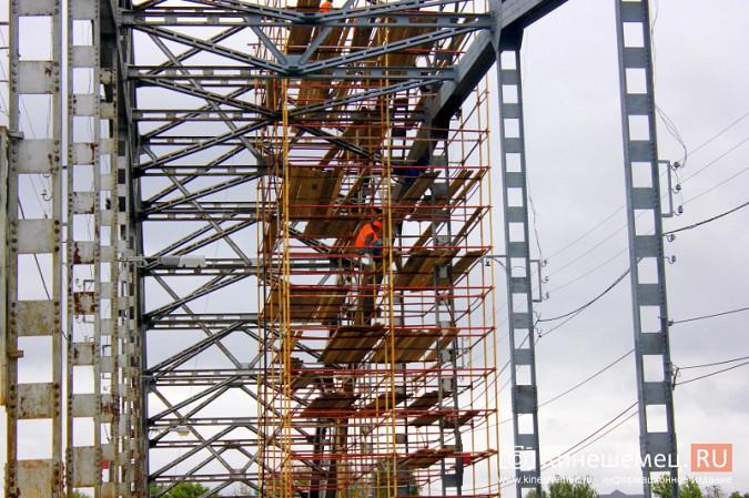 Подрядчик ремонта Никольского моста в Кинешме отстает от графика фото 13