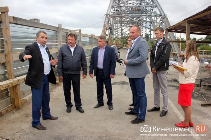 Подрядчик ремонта Никольского моста в Кинешме отстает от графика фото 6