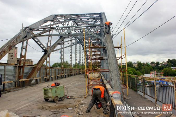 Подрядчик ремонта Никольского моста в Кинешме отстает от графика фото 12