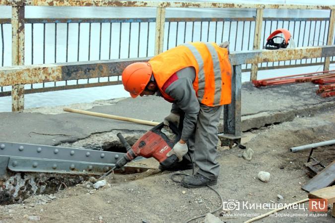 Подрядчик ремонта Никольского моста в Кинешме отстает от графика фото 11