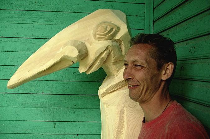 Лучшие скульпторы России по дереву приедут в Кинешму на  День Волжского бульвара фото 7