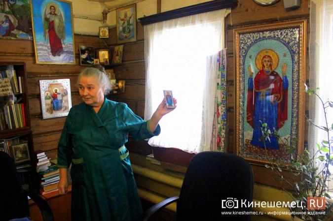 В Кинешме создали уникальную икону для Владимира Путина фото 3