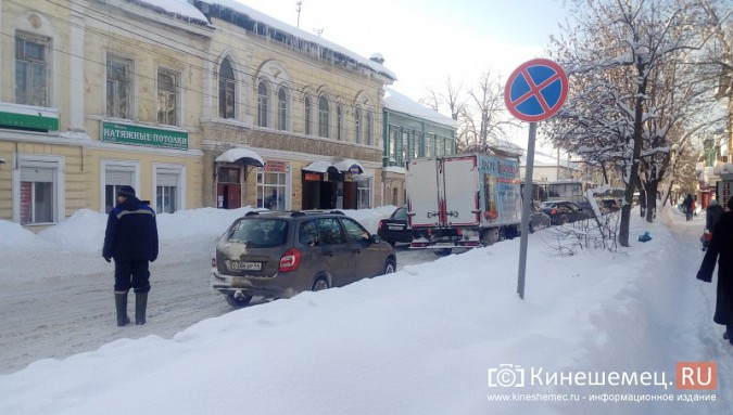 Улица Комсомольская в Кинешме встала в пробку фото 5