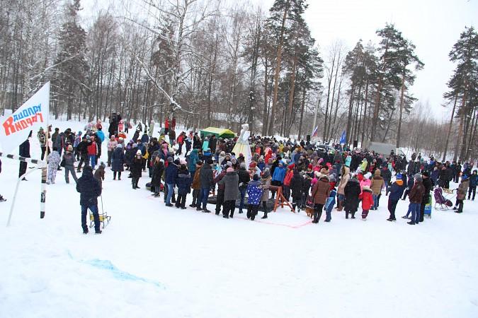 В фабричных районах Кинешмы возродили традицию праздновать Масленицу фото 10