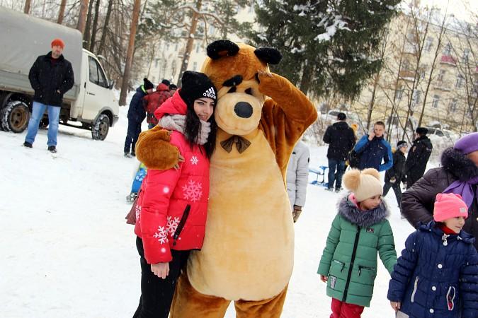 В фабричных районах Кинешмы возродили традицию праздновать Масленицу фото 6