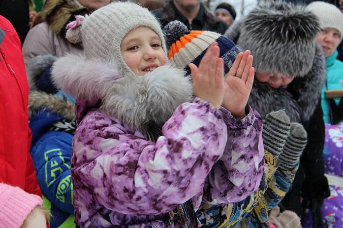 В фабричных районах Кинешмы возродили традицию праздновать Масленицу фото 12