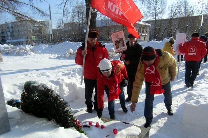 Коммунисты Кинешмы совершили автопробег к 100-летию Красной Армии фото 3