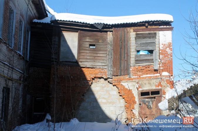 На улице Карла Маркса в центре Кинешмы на глазах разрушается жилой дом фото 19