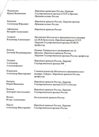 Лановой, Этуш и Башмет подписались под обращением к Президенту РФ против могильника в Заволжске фото 4