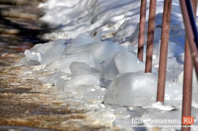 В Кинешме не считают нужным предупреждать горожан о ледяных глыбах на крышах фото 8