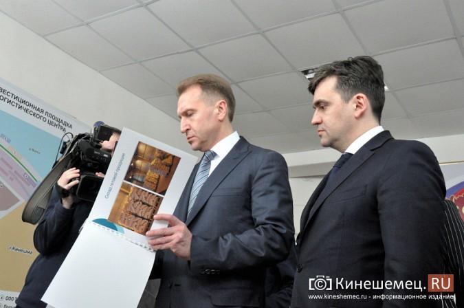 На вице-премьера Игоря Шувалова произвели впечатление Наволоки и резиденты будущего ТОСЭР фото 6
