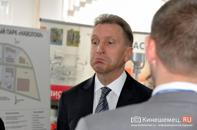 На вице-премьера Игоря Шувалова произвели впечатление Наволоки и резиденты будущего ТОСЭР фото 16