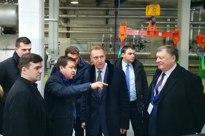 На вице-премьера Игоря Шувалова произвели впечатление Наволоки и резиденты будущего ТОСЭР фото 2