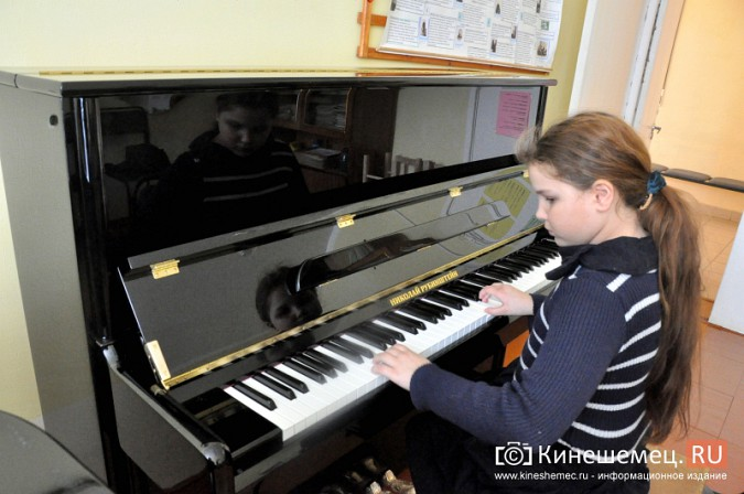 Кинешемская детская школа искусств получила новое пианино фото 2