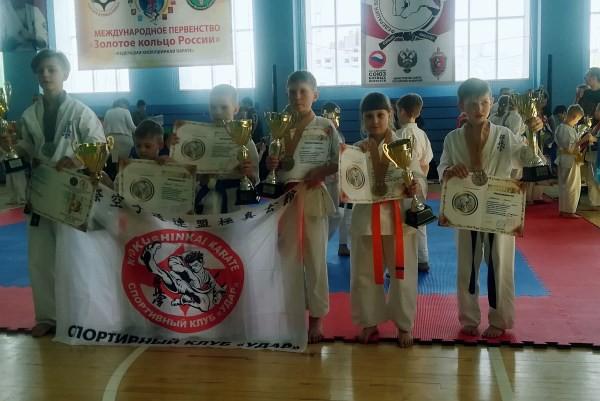 Кинешемские каратисты стали призерами международного турнира фото 7