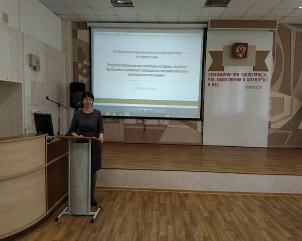 О мощи русского оружия сообщила в своем докладе учительница из Наволок фото 2