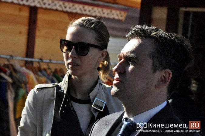 Станислав Воскресенский показал Кинешму Светлане Дрыге фото 28