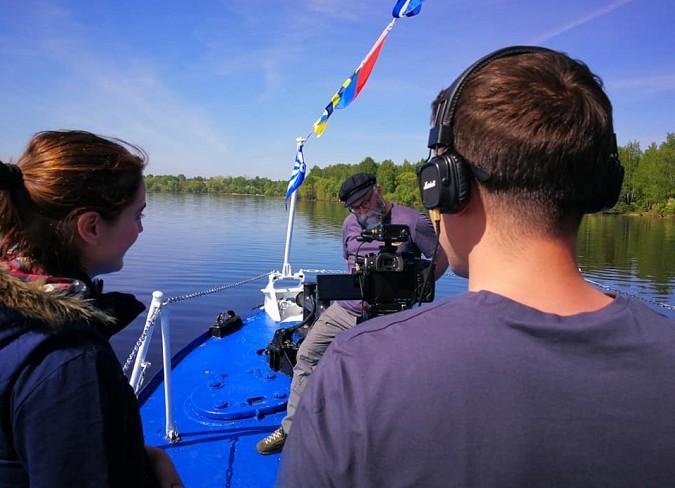 В Кинешме снимают документальный фильм «Великие реки России. Волга» фото 7