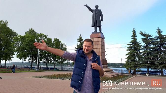 Оппозиционный политик Никита Исаев побывал в Кинешме фото 3