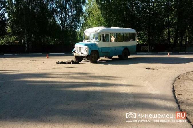 В Кинешме мопедист погиб под колесами автобуса Управления городского хозяйства фото 2