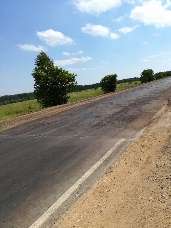 Вновь возобновлен ремонт дороги Кинешма-Наволоки фото 3