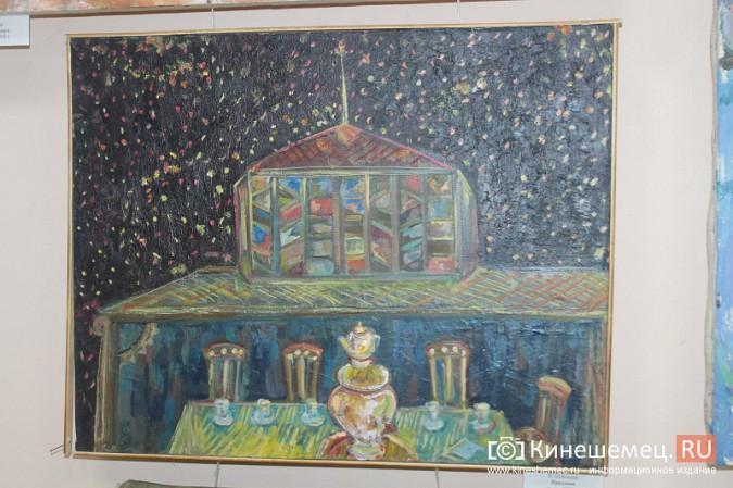 В Кинешме открылась выставка «Фантазии на городскую тему» фото 3