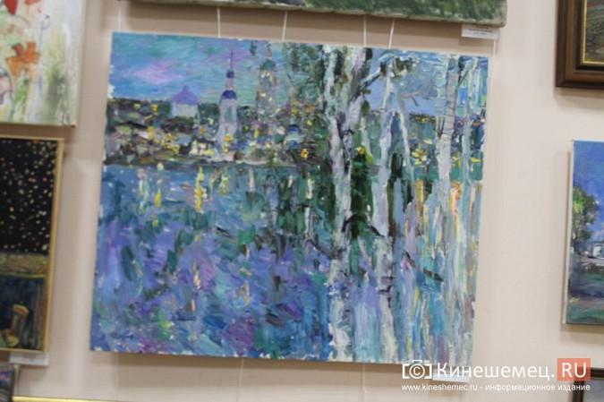 В Кинешме открылась выставка «Фантазии на городскую тему» фото 15