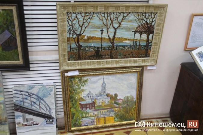 В Кинешме открылась выставка «Фантазии на городскую тему» фото 7
