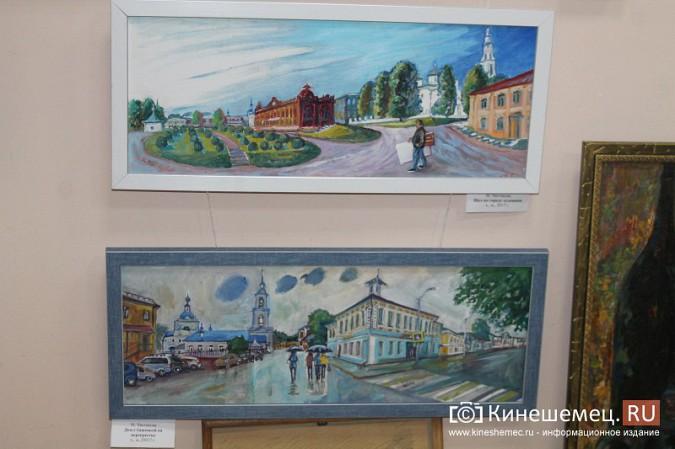 В Кинешме открылась выставка «Фантазии на городскую тему» фото 5