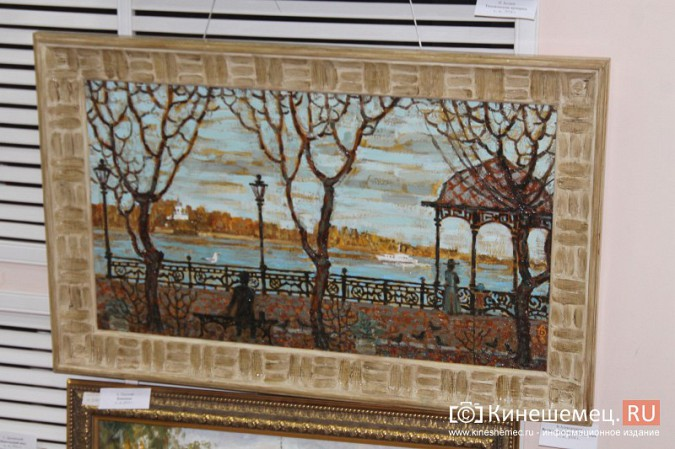 В Кинешме открылась выставка «Фантазии на городскую тему» фото 14