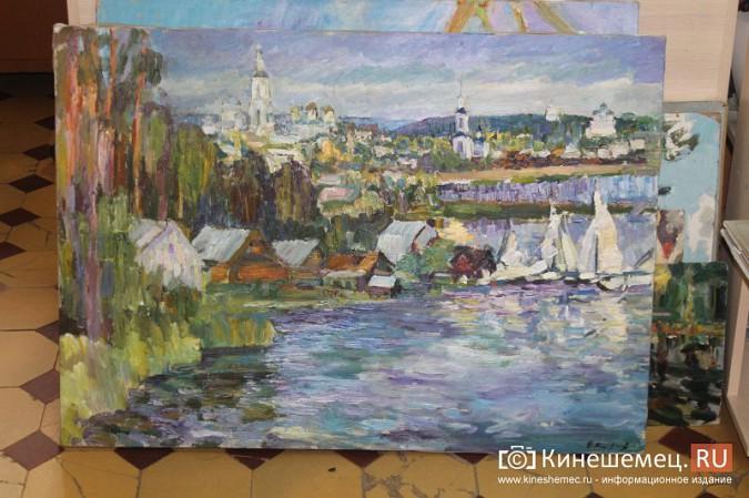 В Кинешме открылась выставка «Фантазии на городскую тему» фото 12