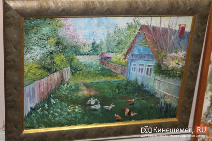 В Кинешме открылась выставка «Фантазии на городскую тему» фото 9