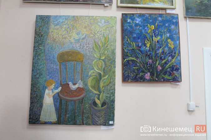 В Кинешме открылась выставка «Фантазии на городскую тему» фото 4