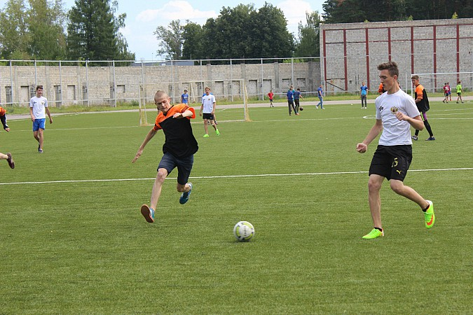 Дворовые футбольные команды начали борьбу за Кубок Александра Пахолкова фото 6