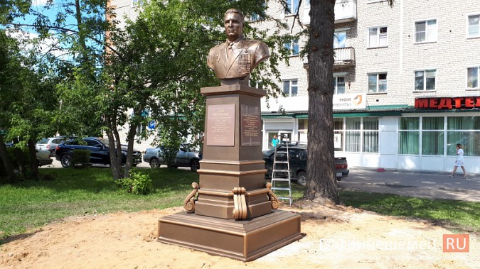Кинешемская дума разрешит установку уже установленного бюста основателя ВДВ В.Маргелова фото 4