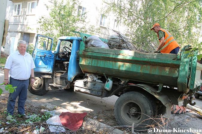 «Единая Россия» приступила к «покупке голосов» кинешемцев добрыми делами фото 5