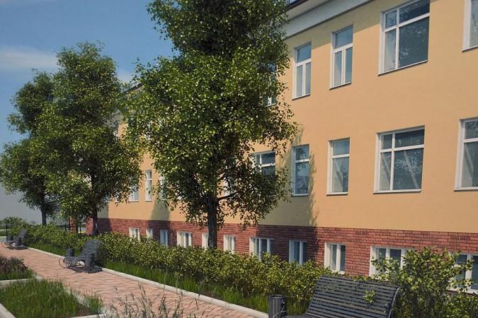 У центральной городской поликлиники в Кинешме появится сквер фото 2