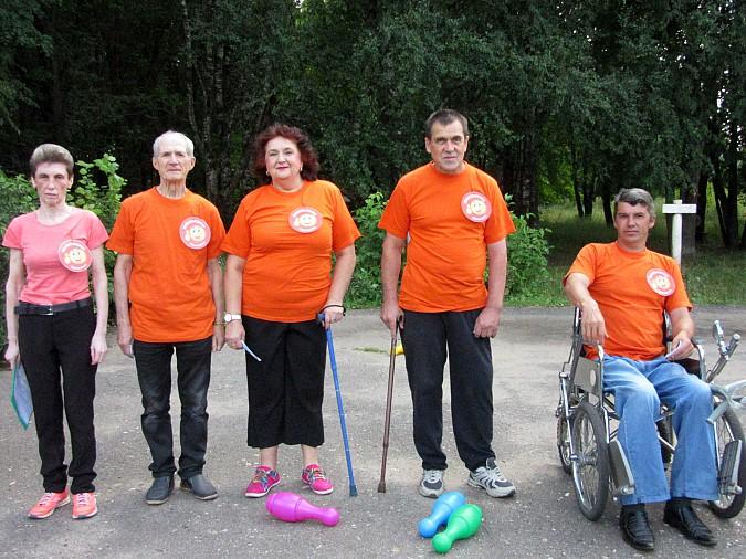 В Кинешме прошли паралимпийские соревнования фото 3