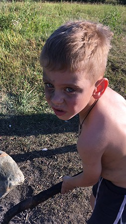 Безруков Богдан, 5 лет