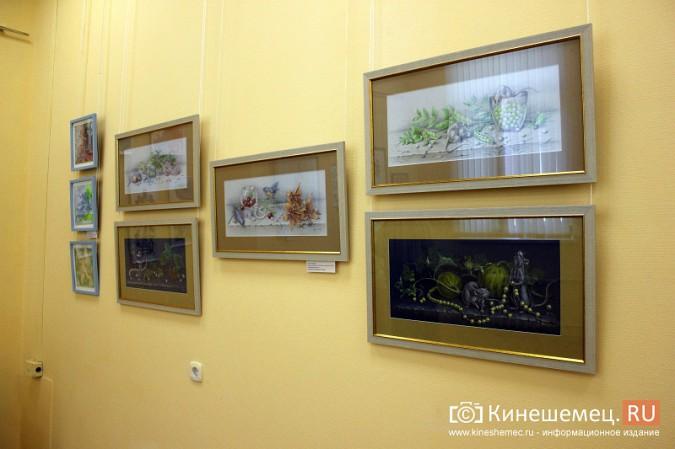 В Кинешме открылась выставка Натальи и Ксении Ледовых фото 13