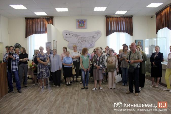 В Кинешме открылась выставка Натальи и Ксении Ледовых фото 2