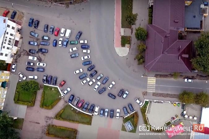 В Кинешме запрещена парковка у памятника В.И.Ленину фото 3