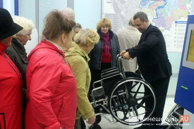 Кинешемских ветеранов ознакомили с работой отремонтированной поликлиники им. Захаровой фото 11