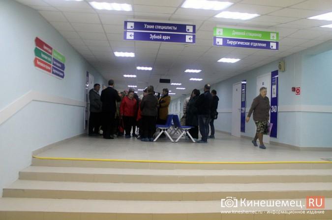 Кинешемских ветеранов ознакомили с работой отремонтированной поликлиники им. Захаровой фото 28