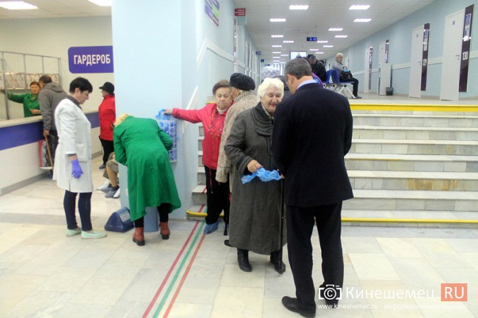 Кинешемских ветеранов ознакомили с работой отремонтированной поликлиники им. Захаровой фото 2